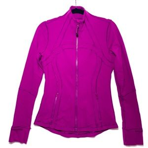 LULULEMON ATHLETICA Purple Define Zip Up Jacket